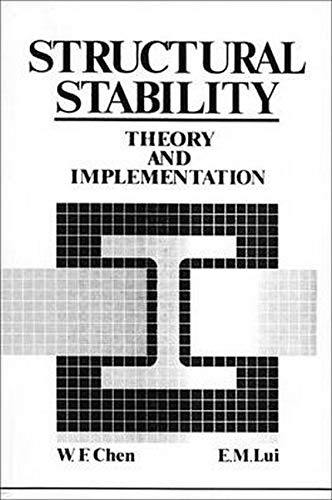 9780135005392: Structural Stability: Theory Implementation