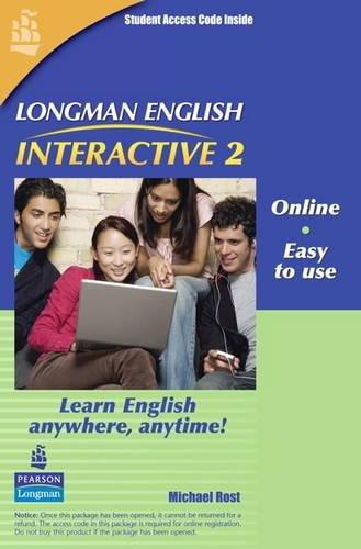 9780135005415: Longman English Interactive 2, Online Version, British English (Access Code Card)