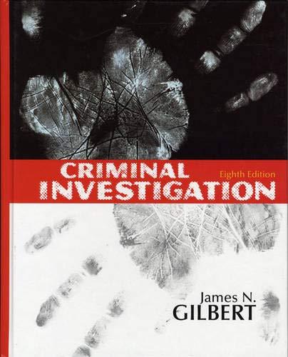 9780135005606: Criminal Investigation (8th Edition)