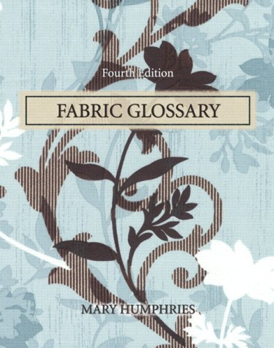 9780135005972: Fabric Glossary (4th Edition)