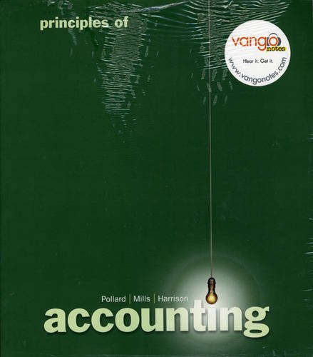 9780135006016: Principles of Accounting and VangoNotes Package