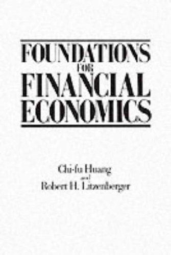 9780135006535: Foundations for Financial Economics