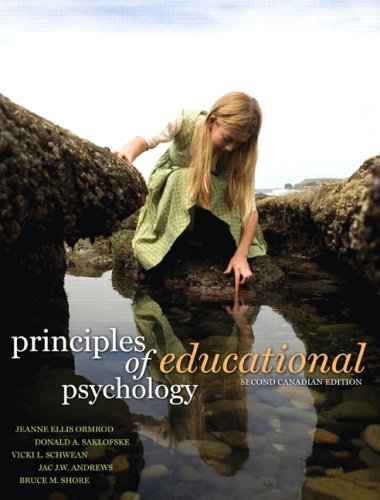 9780135007341: Principles of Educational Psychology, Second Canadian Edition