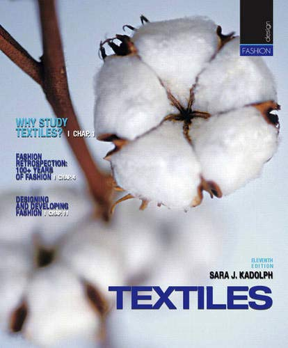 9780135007594: Textiles (11th Edition)