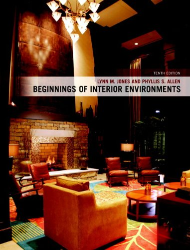 9780135008140: Beginnings of Interior Environments (10th Edition)