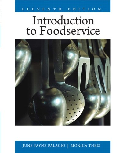 9780135008201: Introduction to Foodservice (11th Edition)