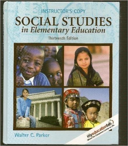 9780135009000: Social Studies in Elementary Education