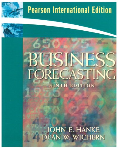 Business Forecastinginternational Editio: John Hanke
