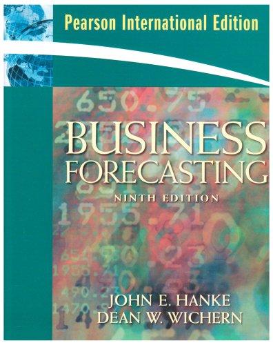 9780135009338: Business Forecasting: International Edition