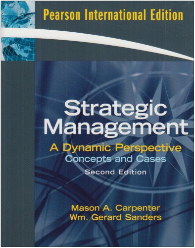 9780135009345: Strategic Management: Concepts and Cases
