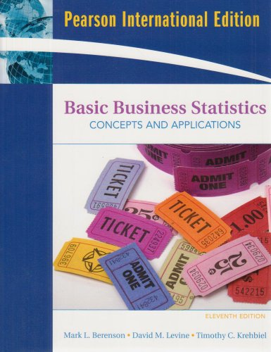 Basic business statistics concepts and applications abebooks basic business statistics international edition concepts and fandeluxe Gallery