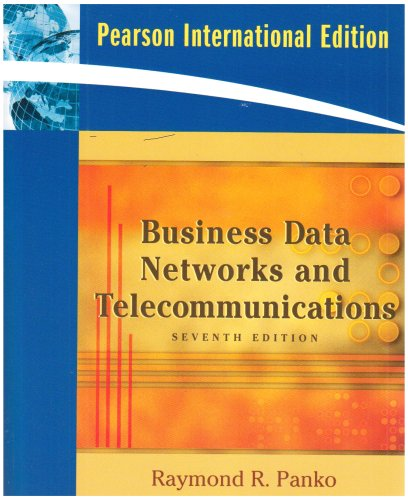 9780135009390: Business Data Networks and Telecommunications
