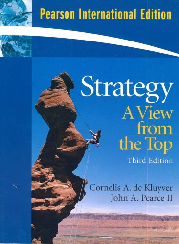 9780135013199: Strategy:A View From The Top: International Edition