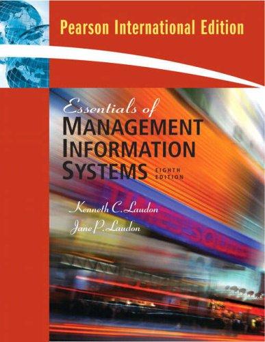9780135013533: Essentials of Management Information Systems