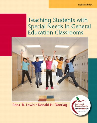 9780135014905: Teaching Students with Special Needs in General Education Classrooms: (8th Edition)