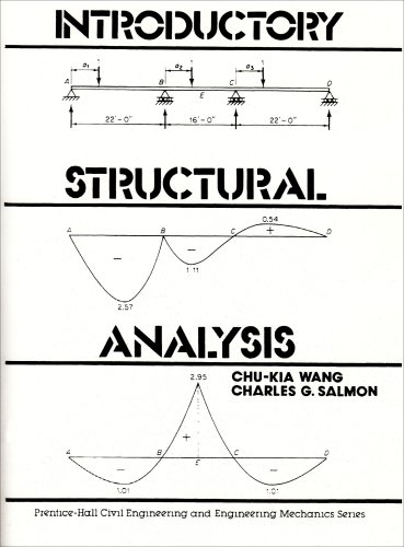 9780135015698: Introductory Structural Analysis (Prentice-Hall civil engineering & engineering mechanics series)
