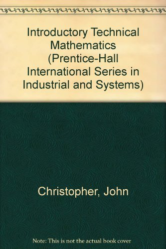 9780135016350: Introductory technical mathematics (Prentice-Hall series in technical mathematics)
