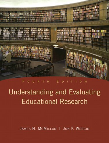 9780135016787: Understanding and Evaluating Educational Research (4th Edition)