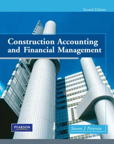 9780135017111: Construction Accounting and Financial Management