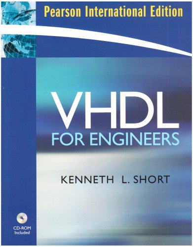 9780135018101: VHDL for Engineers: International Edition