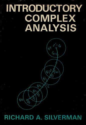 Introductory Complex Analysis: silverman, richard