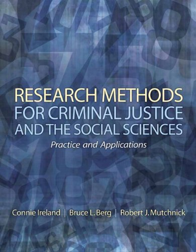 Research Methods for Criminal Justice and the: Robert J. Mutchnick,