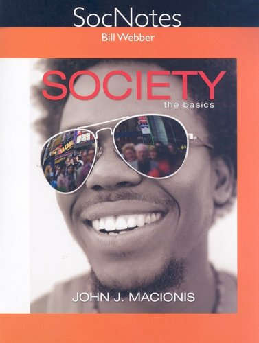 9780135018897: SocNotes for Society: The Basics