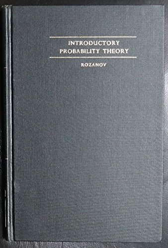 9780135019320: Introductory probability theory (Selected Russian publications in the mathematical sciences)
