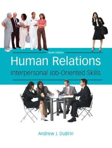 9780135019443: Human Relations: Interpersonal Job-Oriented Skills