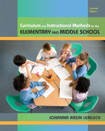 9780135020050: Curriculum and Instructional Methods for the Elementary and Middle School (7th Edition)