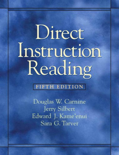 Direct Instruction Reading (5th Edition): Carnine, Douglas W.;