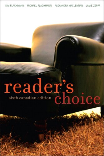 Reader's Choice, Sixth Canadian Edition: Kim Flachmann, Michael