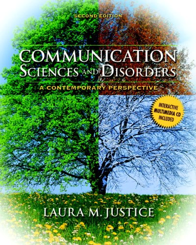 9780135022801: Communication Sciences and Disorders: A Contemporary Perspective