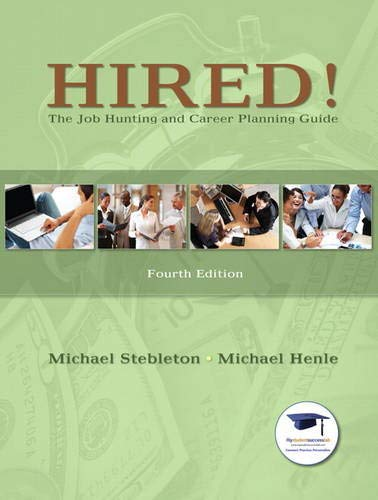 9780135023259: Hired! The Job Hunting and Career Planning Guide (MyStudentSuccessLab (Access Codes))