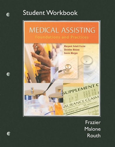 9780135023631: Workbook for Medical Assisting: Foundations and Practices