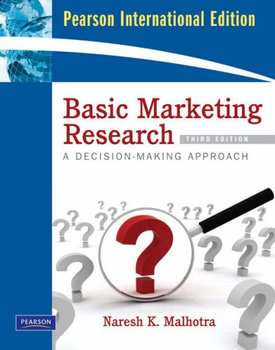 9780135024140: Basic Marketing Research