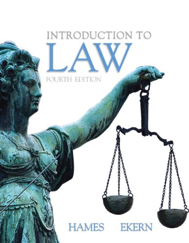 9780135024348: Introduction to Law (4th Edition)