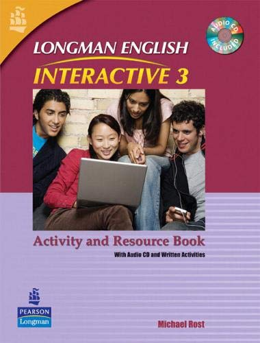 Longman English Interactive 3 Activity and Resource Book: With Audio CD and Written Activities: ...