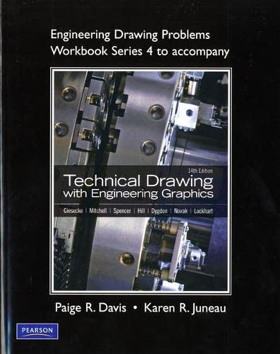 9780135024775: Engineering Drawing Problems Workbook (Series 4) for Technical Drawing with Engineering Graphics