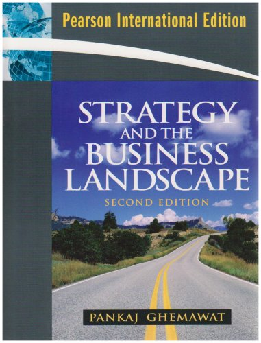 9780135025147: Strategy and the Business Landscape