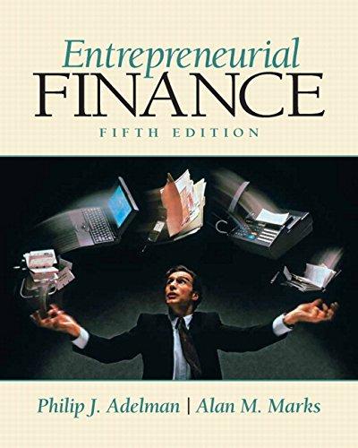 9780135025291: Entrepreneurial Finance (5th Edition)