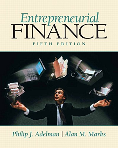 9780135025291: Entrepreneurial Finance (5th Edition)