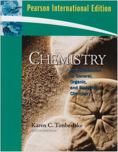 9780135025987: Chemistry: An Introduction to General, Organic, and Biological Chemistry