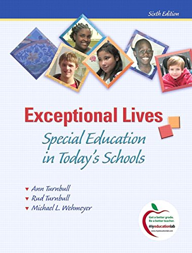9780135026960: Exceptional Lives: Special Education in Today's Schools (6th Edition)