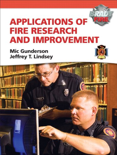 9780135027370: Applications of Fire Research and Improvement