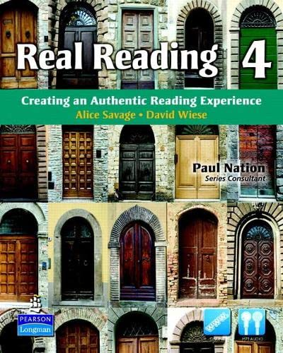 9780135027714: Real Reading 4: Creating an Authentic Reading Experience (mp3 Files Included)