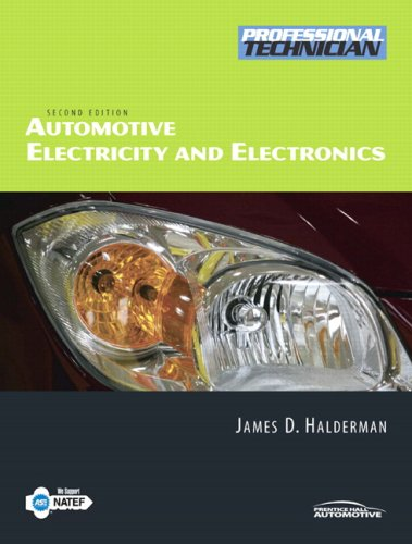 9780135029503: Automotive Electricity and Electronics (2nd Edition)
