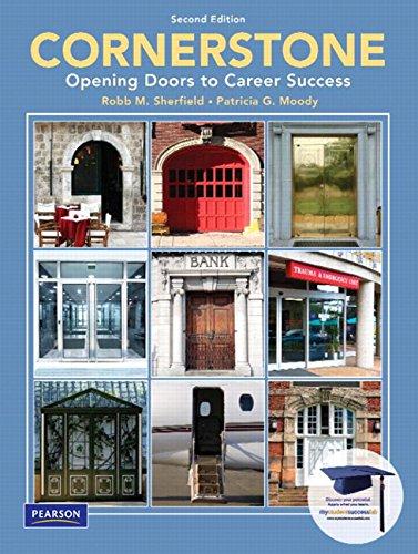 9780135030035: Cornerstone: Opening Doors to Career Success