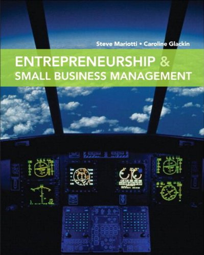 9780135030318: Entrepreneurship and Small Business Management