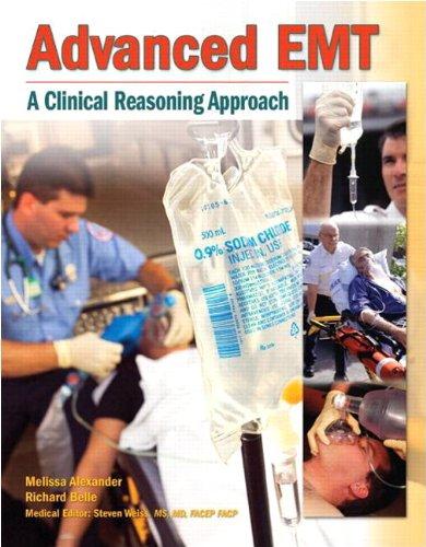 Workbook for Advanced EMT: Belle, Richard, Alexander,